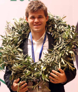Carlsen Magnus Campeón de Ajedrez