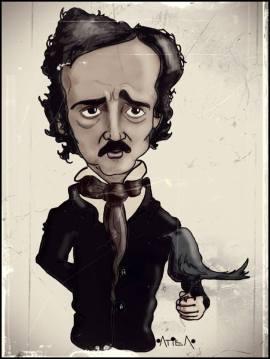 Edgar Allan Poe, caricatura